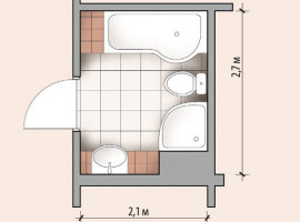 планировка ванной комнаты 6 кв м