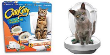 Система приучения кошек к унитазу (CitiKitty Cat Toilet Training Kit)