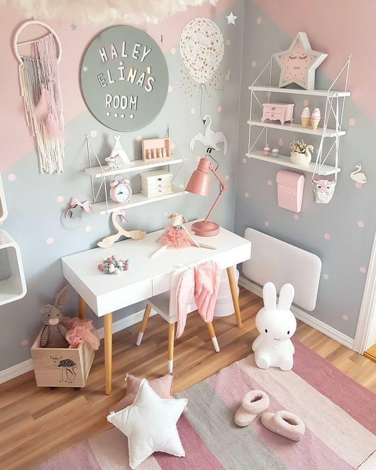 Яркий современный интерьер детской выполненный с особым чувством стиля