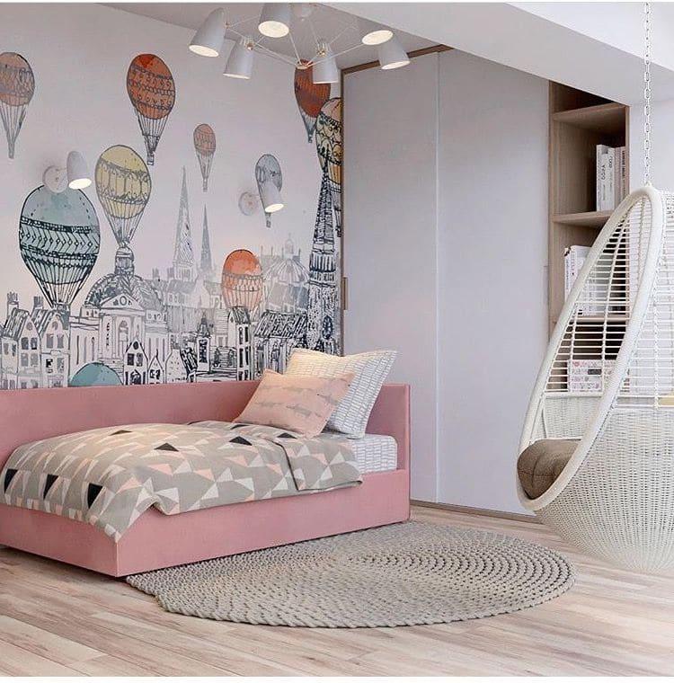 Очень важно, чтобы в детской было не только место для сна, но и для отдыха
