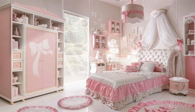 Завораживающий интерьер детской комнаты с элементами классического стиля