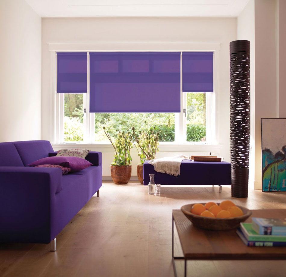 Рулонные шторы: стильно, практично, эффектно