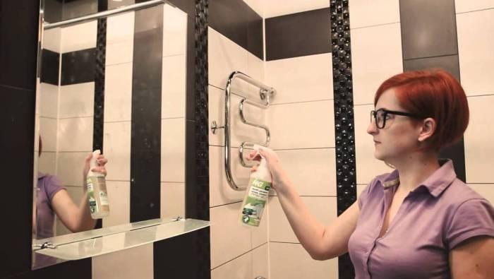 Уборка в ванной комнате