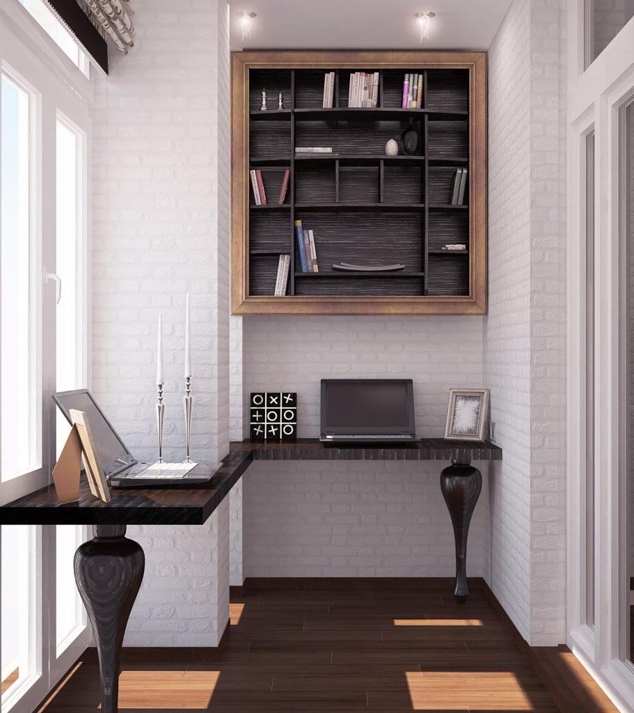 стильный кабинет