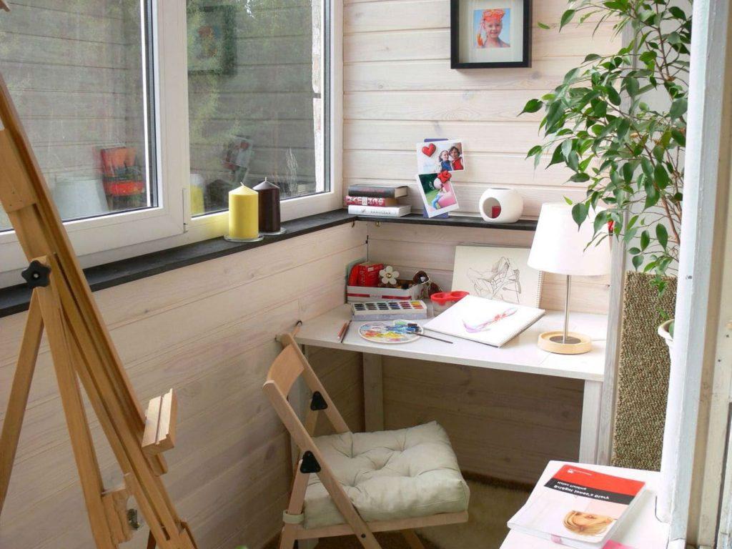Идеальное рабочее место для творческого человека