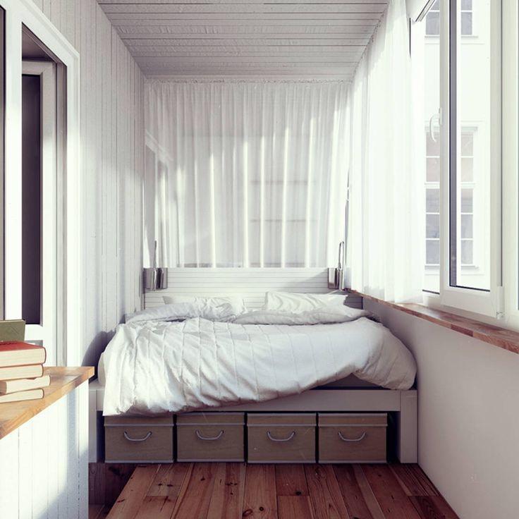 Кровать с выдвижными ящиками снизу