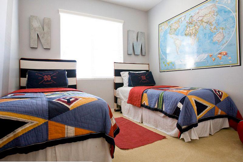 Комната для двух мальчиков-подростков