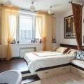 Подиум в интерьере спальни – правильная организация пространства
