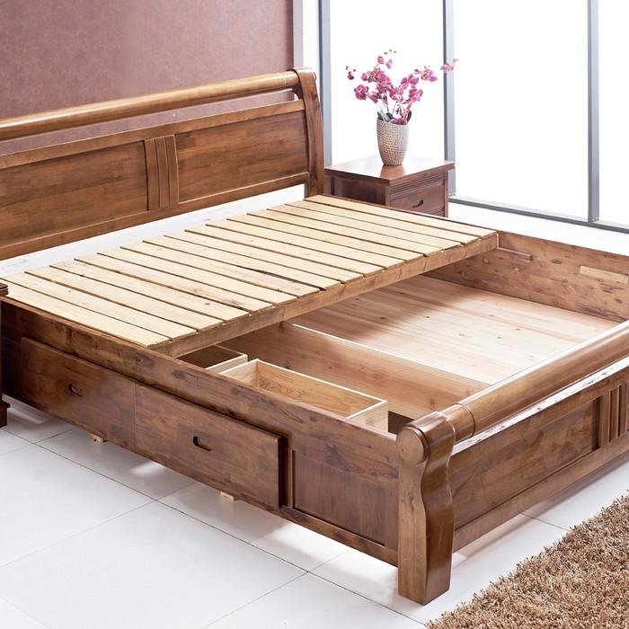 Кровать с ортопедическим основанием и ящиками