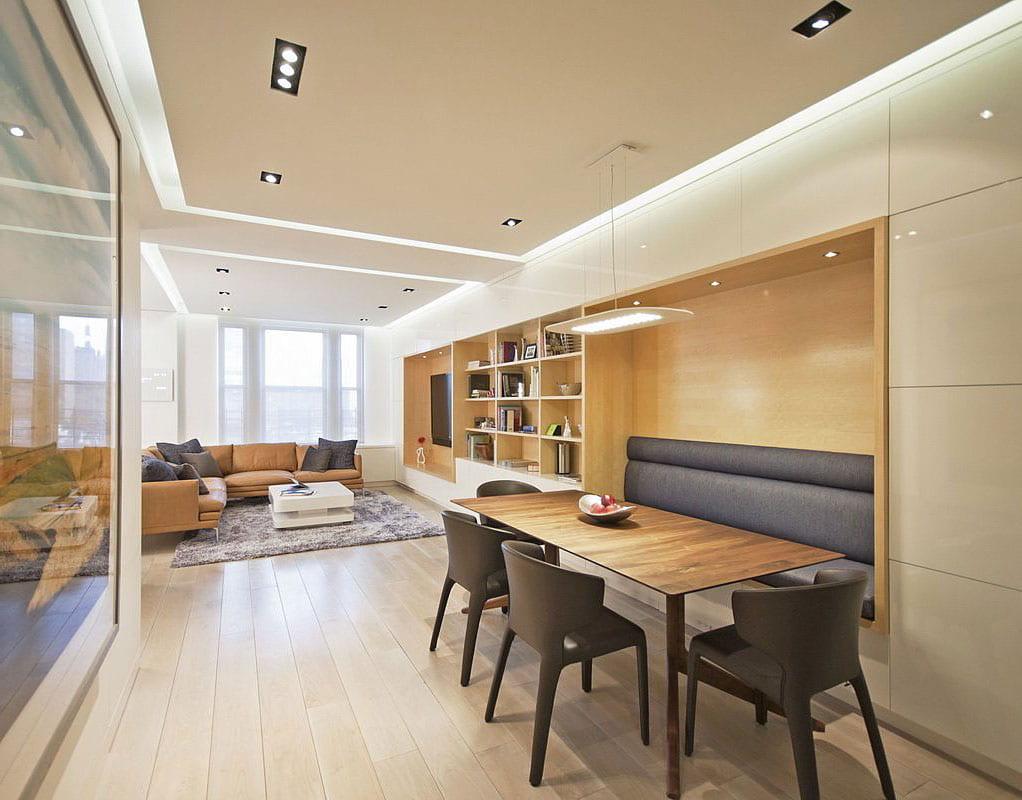 Свободного пространства в хрущевке немного, поэтому важно, чтобы мебель была максимально компактной и удобной