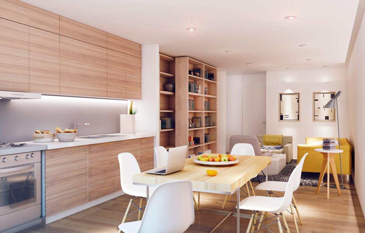 Помогут сэкономить полезную площадь - шкаф трансформер и складной стол, изготовленные по индивидуальному заказу