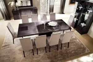 Обеденный стол для гостиной комнаты — обустраиваем комнату