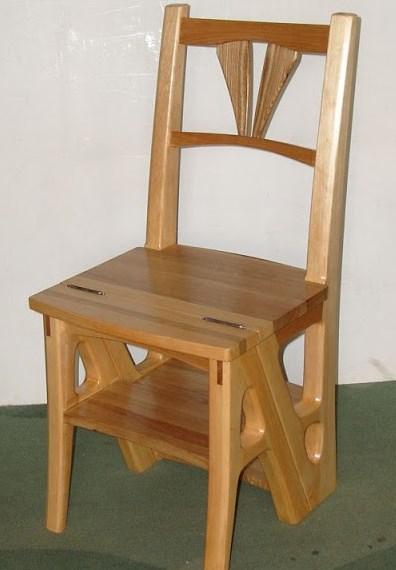 Своими руками можно запросто сделать стул