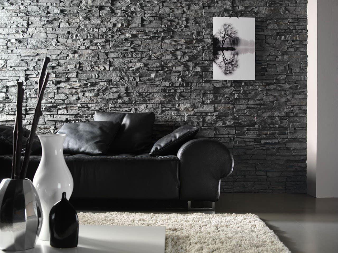 Декорирование стены - один из важных элементов дизайна гостиной в современном стиле