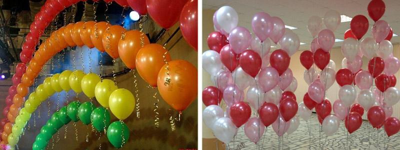 фон для фото из воздушных шаров