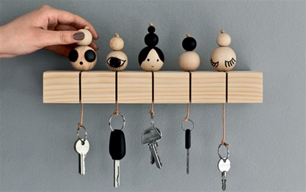 Ключница своими руками: идеи, материалы и мастер-классы