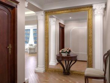 можно ли зеркало вешать напротив входной двери