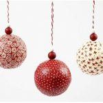 Декупаж елочных шаров – мастер-класс