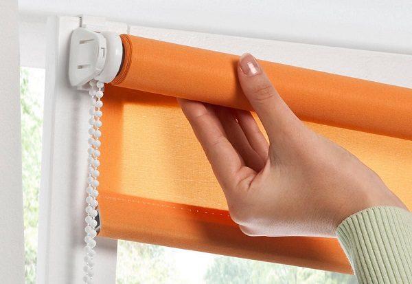 фото: рулонные шторы mini