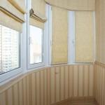 Римские шторы для балкона и лоджии