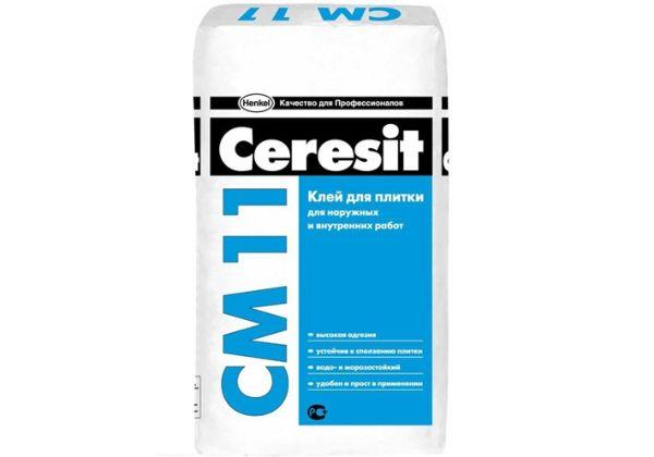 Клей Ceresit - самый популярный плиточный клей