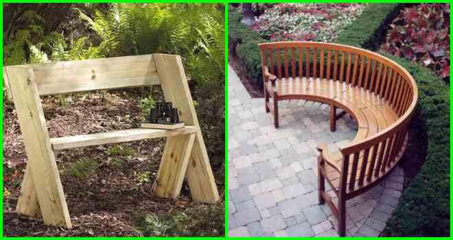 скамейки садовые