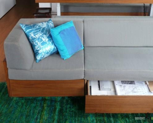 Мебель с встроенными ящиками