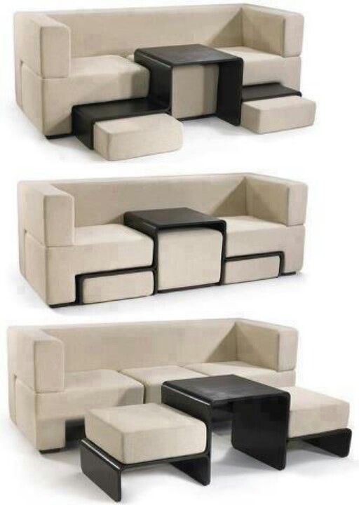 Стол - трансформер с диваном
