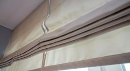Римские шторы с электроприводом