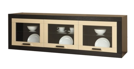 Шкаф для посуды в кухне