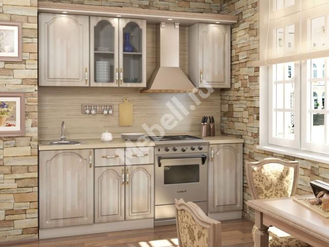 Кухонный гарнитур «Джаз» 1500 Массив