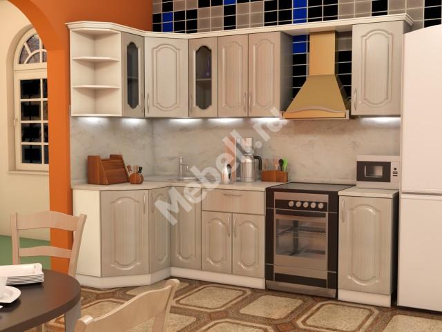 Кухонный гарнитур «Джаз» 1200*1900