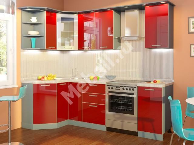 Кухонный гарнитур «Джаз» 1200х1800 ПЛАСТИК