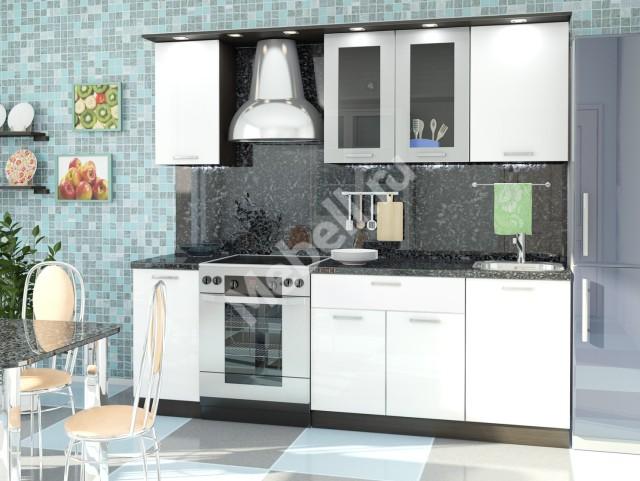 Кухонный гарнитур «Джаз» 1700 ПЛАСТИК