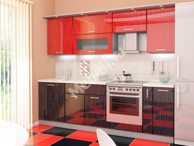 Кухонный гарнитур «Джаз» 2450 МДФ