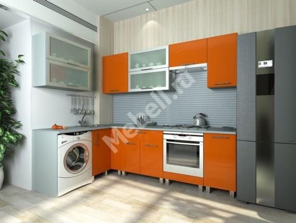 Кухонный гарнитур «Джаз» 1600х2550 ПЛАСТИК