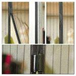 Как правильно выбрать магнитные шторы на двери?
