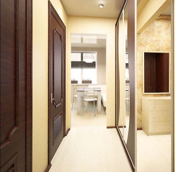 Прихожие для узкого коридора в квартире фото