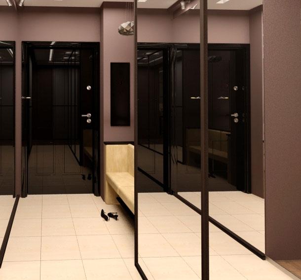 Ремонт в прихожей фото с узким коридором