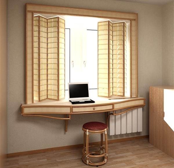 Подоконник в кабинете. Фото с сайта svet-td.ru