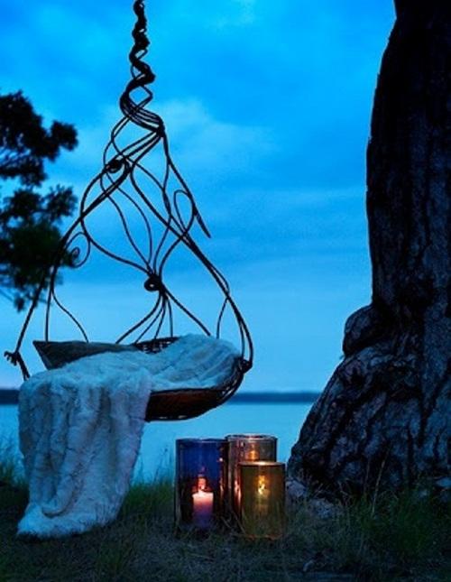 Красивые подвесные кресла фото