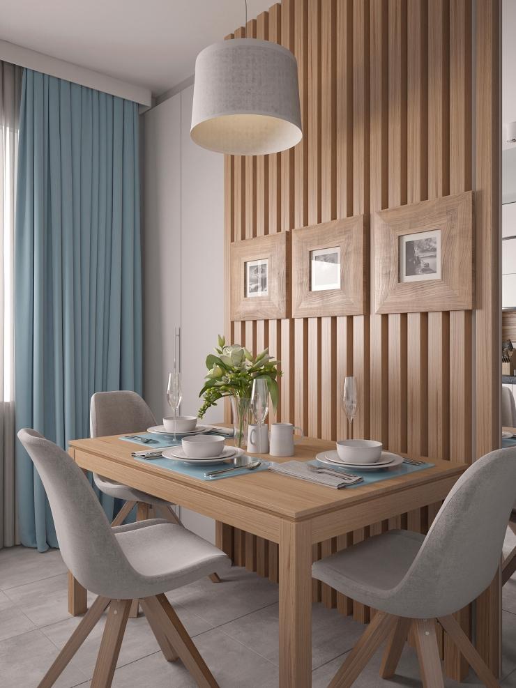 Стильный и гармоничный интерьер кухни