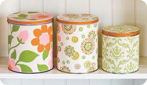 Фото декоративных коробочек, изготовленных из остатков обоев
