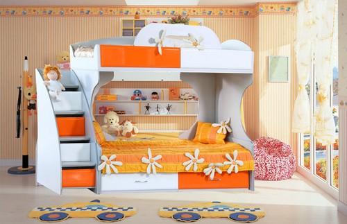 дизайн комнаты с двухъярусной кроватью