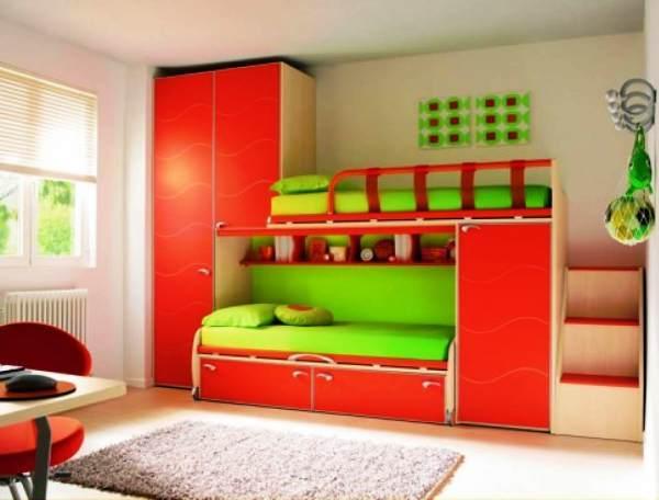 оформление детской комнаты фото для двоих детей