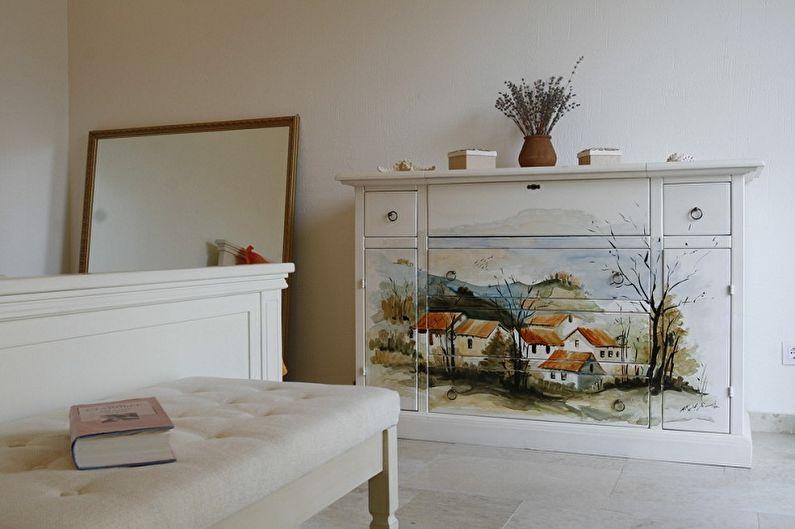 Декупаж мебели своими руками: 80 красивых идей