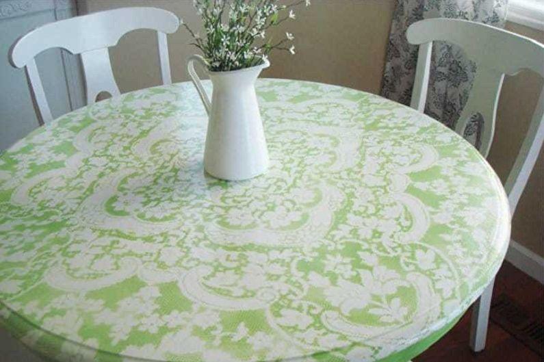 Декупаж стола - Декупаж мебели своими руками