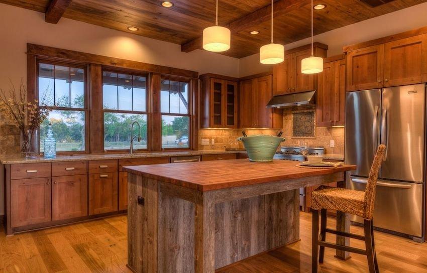 кухня 2018 из дерева