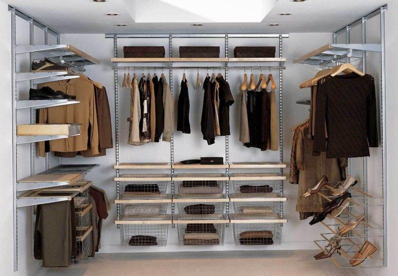 Дизайн гардеробной комнаты - Системы хранения