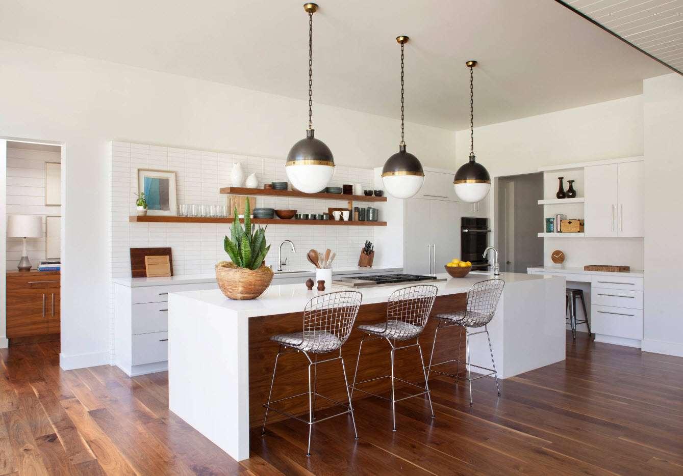 кухня 2018 в эко стиле